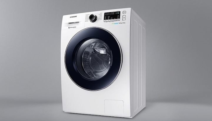 samsung ecobubble wd0804w8e washer dryer manual