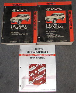 1991 toyota 4runner repair manual download