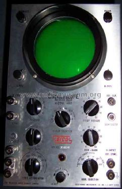 eico oscilloscope model 460 manual