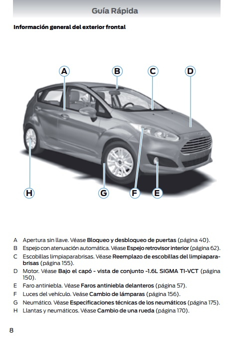 ford fiesta 2014 manual pdf