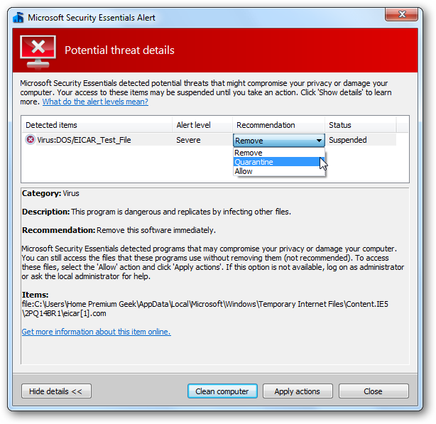 how to manually download microsoft essentials