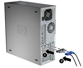 hp xw4600 workstation user manual